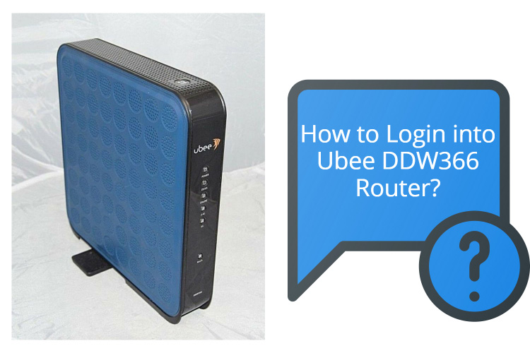Ubee DDW366 Router