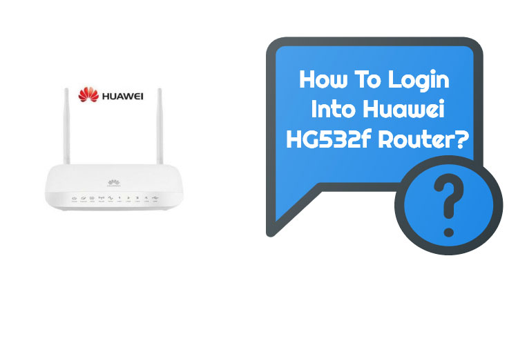 Huawei HG532f Router